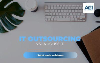 IT Outsourcing vs. Inhouse IT für kleine und mittelständische Unternehmen
