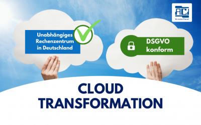 Cloud Transformation – So gestalten Sie den Umstieg reibungslos.